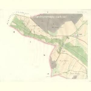 Gross Strzebegzin (Welka Střebegčyna) - c8061-1-001 - Kaiserpflichtexemplar der Landkarten des stabilen Katasters