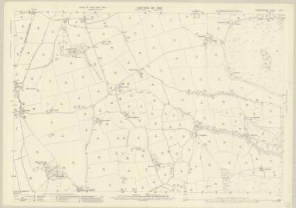 Denbighshire XIX.12 (includes: Llanbedr; Llanfair Dyffryn Clwyd Rural; Rhuthun) - 25 Inch Map