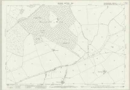 Huntingdonshire XII.7 (includes: Barnwell; Brington and Molesworth; Clopton; Lilford cum Wigsthorpe; Luddington; Old Weston; Thurning; Winwick) - 25 Inch Map