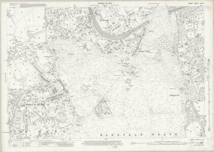Surrey XXVI.2 (includes: Banstead; Walton on The Hill) - 25 Inch Map