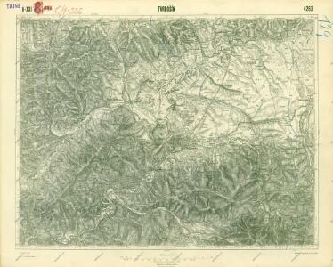 III. vojenské mapování 4263