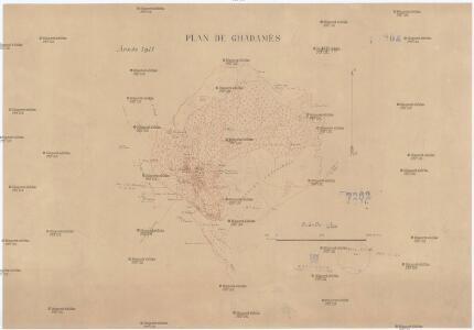 Plan de Ghadamés