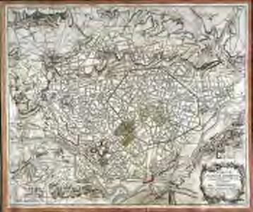 Carte topographique de la forest et des environs de Compiegne