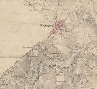 Erddig Wood, near Wrexham (detail from OSD Map 316 [Chester], surveyed in 1819)