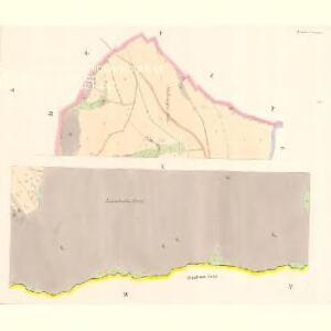 Linsdorf (Techowin) - c7882-1-001 - Kaiserpflichtexemplar der Landkarten des stabilen Katasters