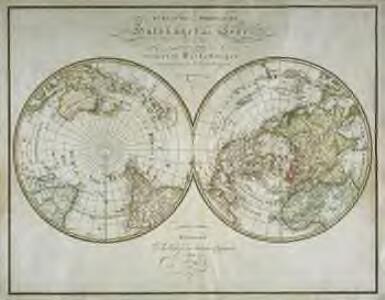 Sudliche und Nœrdliche Halbkugel der Erde