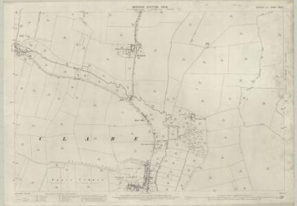Suffolk LXXI.3 (includes: Cavendish; Clare; Poslingford) - 25 Inch Map