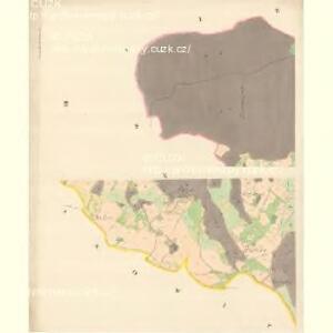 Gross Kuntschitz (Welka Kunčica) - m1425-1-003 - Kaiserpflichtexemplar der Landkarten des stabilen Katasters
