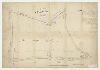 Polder het Landigje Bevershoek, gemeente 's-Gravendeel.