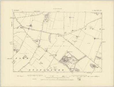 Cambridgeshire XLVII.SW - OS Six-Inch Map