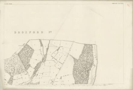 Hampshire and Isle of Wight LXVII.5 (includes: Shedfield; Soberton; Swanmore; Wickham) - 25 Inch Map