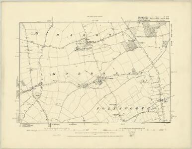 Huntingdonshire IV.NE - OS Six-Inch Map