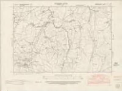 Denbighshire XII.SW - OS Six-Inch Map