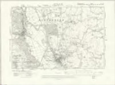 Denbighshire XI.SW - OS Six-Inch Map
