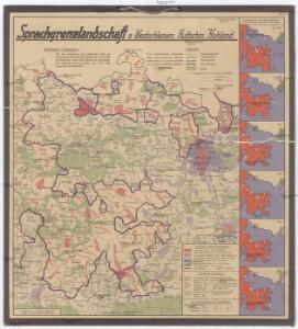 Sprachgrenzlandschaft v. Westschlesien, Hultschin, Kuhland