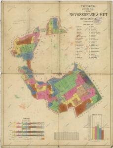 Porostní mapa polesí Novosedlské Hutě
