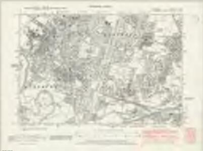 Cheshire X.SW - OS Six-Inch Map