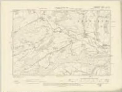 Radnorshire X.NE - OS Six-Inch Map