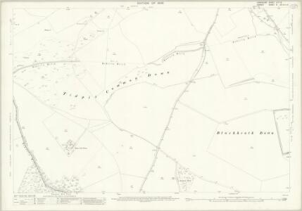 Hampshire and Isle of Wight LIVA.12 (includes: Cranborne; Damerham; Martin) - 25 Inch Map