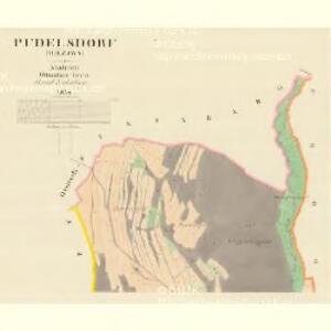 Pudelsdorf (Hrzjwa) - m1396-1-001 - Kaiserpflichtexemplar der Landkarten des stabilen Katasters