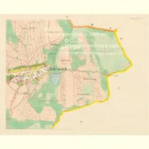 Schönwald - c3869-2-004 - Kaiserpflichtexemplar der Landkarten des stabilen Katasters