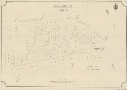 Balmain, Sheet 30, 1888