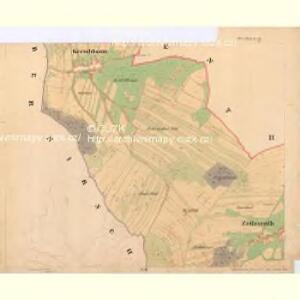 Liebesdorf - c1905-1-004 - Kaiserpflichtexemplar der Landkarten des stabilen Katasters