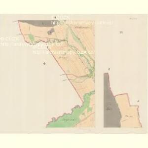 Branek (Branky) - m0204-1-003 - Kaiserpflichtexemplar der Landkarten des stabilen Katasters