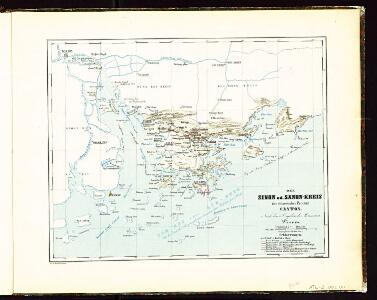 Atlas der evangelischen Missionsgesellschaft in Basel mit Angabe der Verbreitung der Hauptreligionen11. Der Sinon oder Sanon-Kreisder Chinesischen Provinz Canton