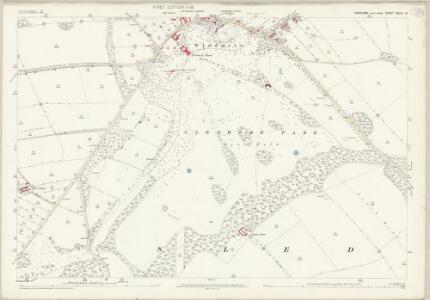 Yorkshire CXLIII.12 (includes: Sledmere) - 25 Inch Map