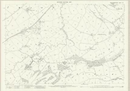 Montgomeryshire X.10 (includes: Llanfechain; Pool) - 25 Inch Map