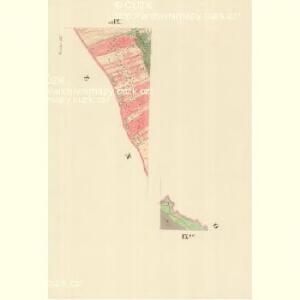 Kniezdub - m1209-1-009 - Kaiserpflichtexemplar der Landkarten des stabilen Katasters