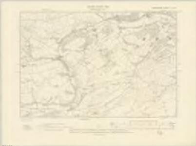 Radnorshire X.SE - OS Six-Inch Map