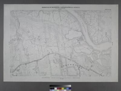 Sheet No. 59. [Includes Fresh Kills Road (Arthur Kills Road) Green Ridge and Richmond Creek.]; Borough of Richmond, Topographical Survey.