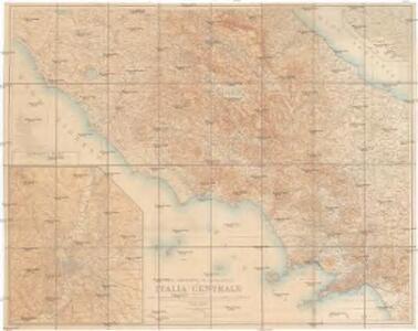 Carta corografica ed archeologica dell' Italia centrale