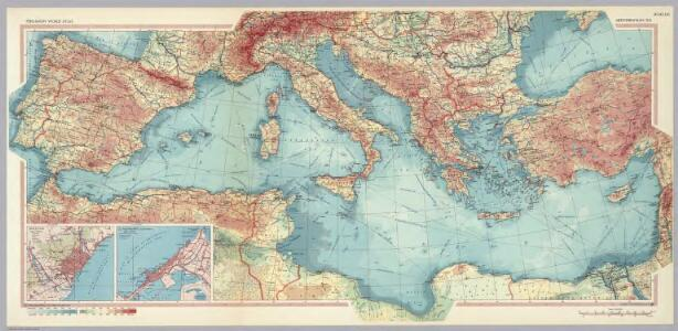 Mediterranean Sea.  Pergamon World Atlas.