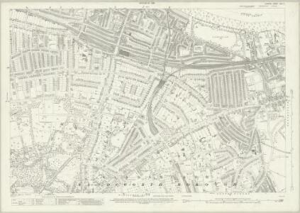 London (1915- Numbered sheets) VIII.11 (includes: Wandsworth Borough) - 25 Inch Map