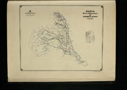 Harta Cailor de Comunicatie din Judetul Putna