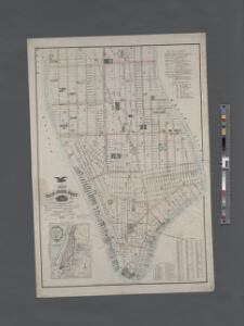 Map of New York City, south of 46th St.