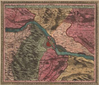 Typus Choro-Topographicus Caesareae Sedis Et Totius Germaniae Celeberrimae Urbis Viennae Austriacae