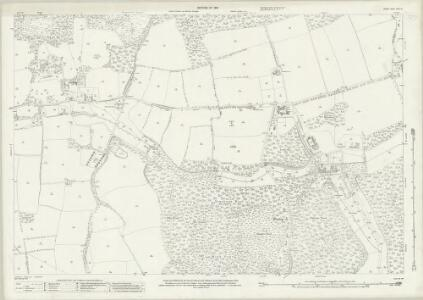 Surrey XXXIII.5 (includes: Abinger; Wotton) - 25 Inch Map