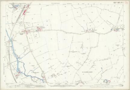 Suffolk LXXII.11 (includes: Acton; Borley; Chilton; Foxearth; Long Melford; Sudbury) - 25 Inch Map