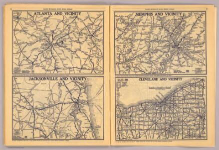 Atlanta, Jacksonville, Memphis, Cleveland.