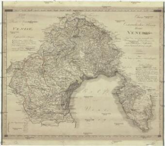 Charte von dem oesterreichischen Herzogthume Venedig