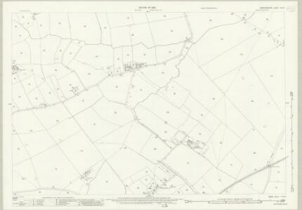 Bedfordshire XXI.5 (includes: Lidlington; Marston Moretaine) - 25 Inch Map