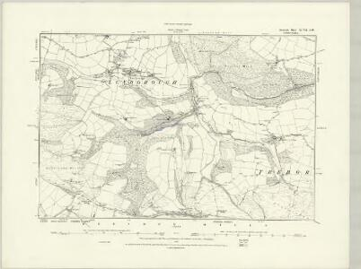 Somerset XLV.NE - OS Six-Inch Map