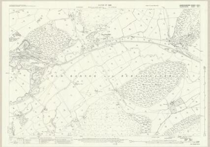 Radnorshire XXX.1 (includes: Burlingjobb and  Old Radnor; Kington Rural) - 25 Inch Map