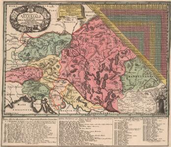 Provincia Austriaca Societatis Iesu, aeri ineisa et orrdis Patribus ejusdem Societat. in dicta Provincia decenti observantia oblata