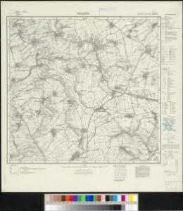 Meßtischblatt 2873 : Osterfeld, 1924