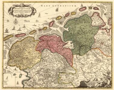 Tabula Frisiae, Groningae, et Territorii Emdensis